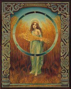 Ceres Roman Fertility & Agriculture Goddess 8x10 Print