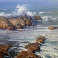 water, christensen studio, landscap, artseascap paint, likabl art, inspir, beach, artist, scott christensen