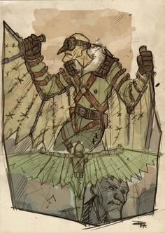 Vulture Steampunk Re-Design by ~DenisM79 (The same guy that brought you Rockabilly Batman)