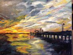 Fairhope (Alabama ) Pier at Sunset
