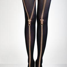 golden zippers