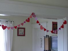 Last-Minute Heart Garland for Valentine's Day Sewing Tutorial