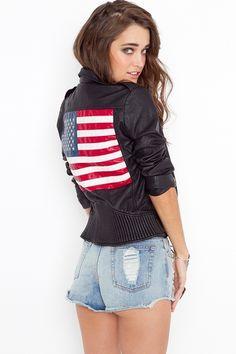 Americana Moto Jacket