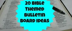 Bible Theme Bulletin Boards (Winter Ideas, Valentine's Ideas, and specific Bible Stories)
