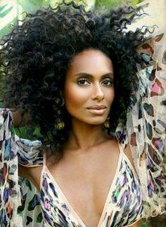 big curls, black hair, shakara ledard, black beauti, natur hair, hair inspir, natur beauti, hair crush, natural beauty