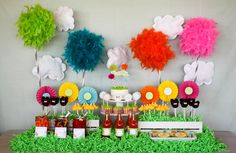 Project Nursery - lorax theme birthday party