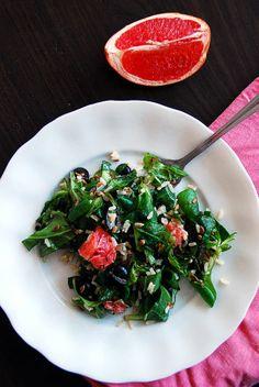 Al's kitchen: Grejpfrutowa sałatka