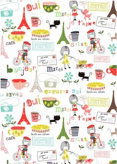 graphic, artist studios, learn french, pattern, france illustration, paper, french illustrations, print, paris illustration
