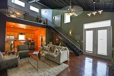 Metal homes on pinterest morton building homes morton Metal shop with apartment