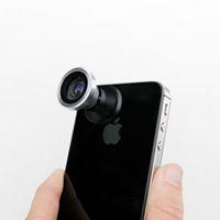 *fisheye,wide/macro and telephoto phone lenses