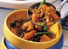 curried sweet potato and lentil stew-crockpot recipe healthy