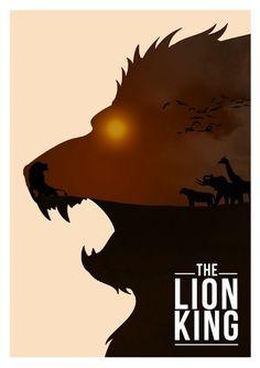 The Lion King Minimalist Poster - Rowan Stocks-Moore