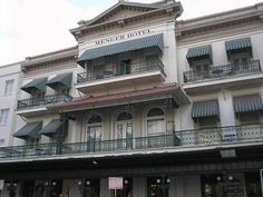 Haunted Texas — The Menger Hotel, San Antonio.  The Menger is located adjacent to the Alamo and first opened in 1859, just 23 years after the battle at the Alamo, by owner William Menger and architect John Fries. The hotel was built in the same location that the Menger Brewery had operated.  It wasn't long before the Menger Hotel gained a reputation as one of the finest in the West, attracting the famous & infamous who could be counted among her guests. creepi, antonio hotel, haunt hotel, menger hotel, texas, san antonio, ghost, haunt place, hotels