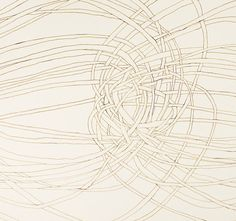 """Endless Topography 5"" original ink drawing by Kristy Modarelli for The Aldas Project @ Etsy"
