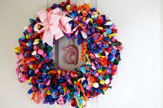 DIY Birthday Balloon Wreath