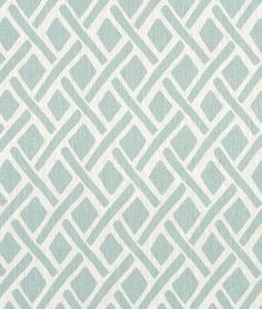 Portfolio Treads Lagoona Fabric - $31.15 | onlinefabricstore.net #blue