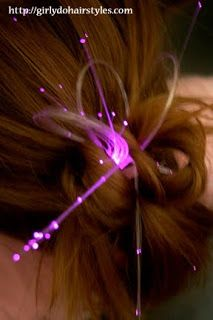 Girly Do Hairstyles: By Jenn: A Fun Glowby Do **TIME IS UP**