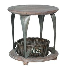 Cricket's Corner Gothic Artifacts Accent Table