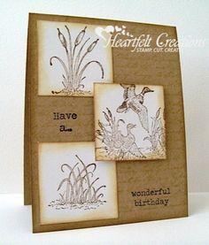 Heartfelt Creations   Mallards Birthday