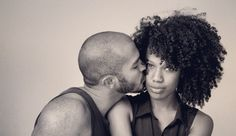 a kiss, hair board, girl natur, natur hair, bad hair, kinkycurlyrelaxedextens board, coupl, beauti, black
