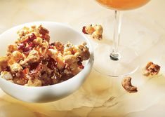 """Oh, my! Bacon and Cashew Caramel Corn. This may be MY kind of a """"trail ..."""