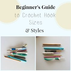 Beginner crochet has never been so easy. Check out our Beginner's Guide to Crochet Hook Sizes and Styles to learn about the basics of crochet hooks.