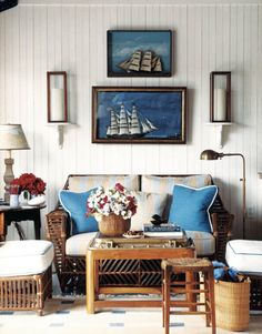 nantucket living room