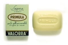 Valobra Primula Primrose Soap Bar 4 oz. From Italy by Valobra. $14.00. Lovely Primrose Scent. Hand-Wrapped In Vintage Style Gift Box. Imported From Italy. Suited For Babies Particularly & Very Delicate Complexions. Contains High Content Of Lecithin & Lecithin To Soften & Moisturize Skin. Valobra Primula Primrose Soap Bar 3.75oz. From Italy. Since 1903 the Valobra family of Genova, Italy have produced exceptional bathing soaps. Today the House of Valobra hand picks natu...
