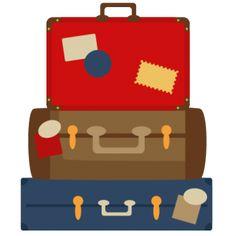 clipart, svg cut files, suitcas