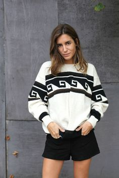isabel marant. black and white print