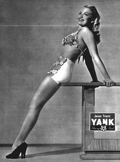 Yank Pin Up, 30 March 1945, Jean Trent