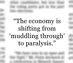 """- Pierpont Securities economist Stephen Stanley after dismal U.S. employment and manufacturing reports  added to mounting fears about European and Asian economies. The news sent stocks sliding Friday morning. """"Jobs Slowdown Adds to Global Fears"""", June 1, 2012. http://on.wsj.com/L3lylu"""