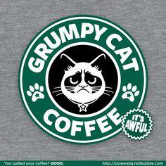 Grumpy cat Starbucks