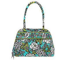 Vera Bradley Signature Print Bowler Handbag