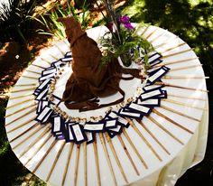 Harry Potter Theme Wedding: Wands