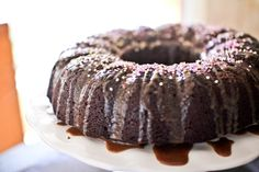 Mexican Hot Chocolate Cake - Gluten-free, Dairy-free, and no oil.