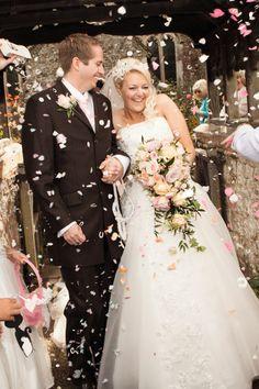 Real #wedding ideas - Kent weddings - UK weddings http://www.weddingandweddingflowers.co.uk/article/663/real-wedding-inspiration-gemma-and-chris Photography: Elegant & Wild Wedding Photography