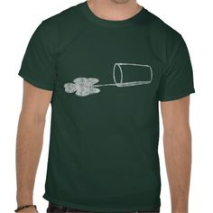 Lucky Spill Tee Shirt #shamrock #green #stpattysday #stpattys #stpatricks #stpatrickstshirt #lucky #zazzle #sweepstakes