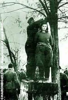 Seventeen year old Lepa Radic was publicly hanged from the branch of a tree, in Bosanska Krupa in Bosnia in January 1943, for shooting at German soldiers.