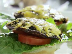 Portobello Burgers Recipe : Sandra Lee : Food Network - FoodNetwork.com