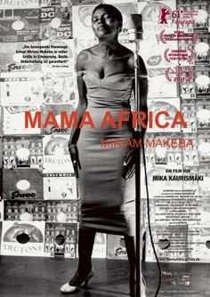 Miriam Makeba-I have one of her albums-she had such a marvelous voice!! It doesn't matter that I can't understand the words...the music says it all!