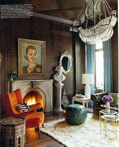 images of burnt orange home decor | Decorating with Burnt Orange