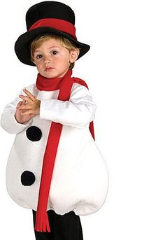 Toddler Baby Snowman Costume | Christmas Halloween Costumes