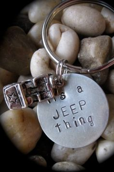 need this jeep key ring
