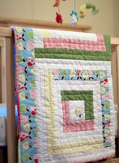 Log Cabin Quilt. Not sure I have the patience.
