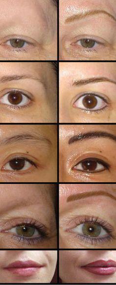 Permanent make up on pinterest permanent makeup for 101 beauty salon beverley