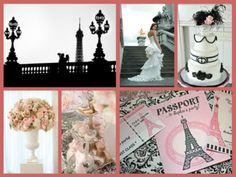 Paris wedding theme sempr parigi, pari theme, paris wedding
