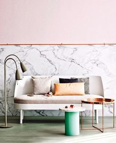 Pretty in Pink TRENDLAND TUESDAY / MARBLE WALLS