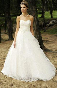 explore pearl wedding dresses