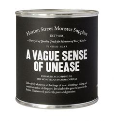 A vague sense of unease. for those times when whoopass is overkill, but you need to open up SOMETHING.